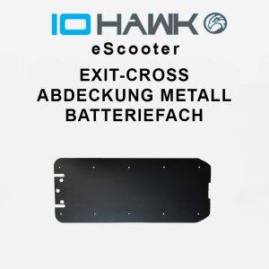 Abdeckung Metall Batteriefach Exit Cross