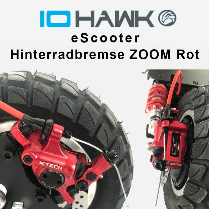 Hinterradbremse mechanisch rot Zoom HB 100