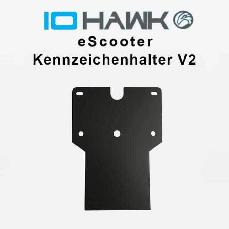 IO Hawk Kennzeichenhalter V2