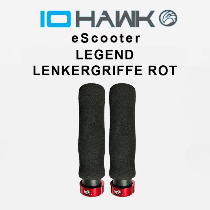 IO HAWK Legend Lenkergriffe rot