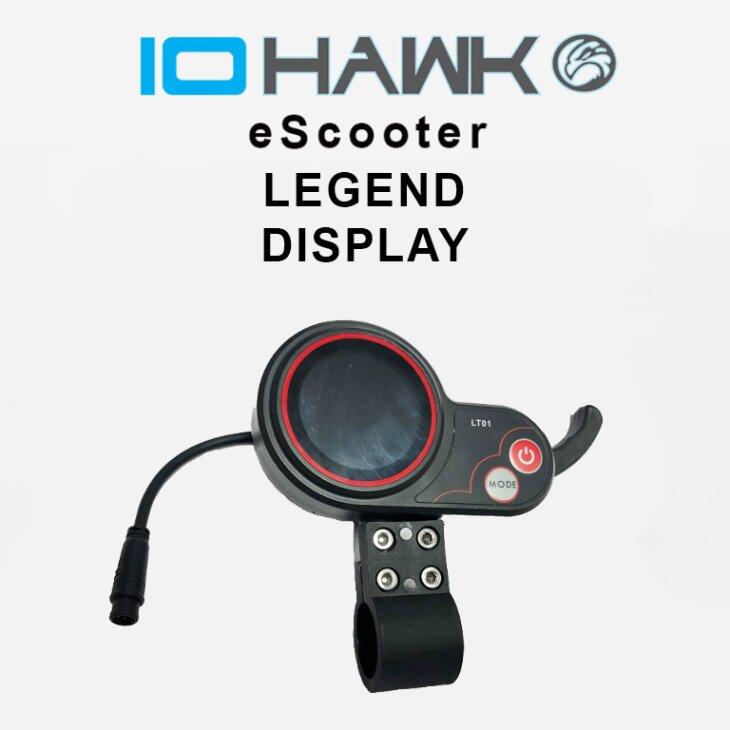 IO HAWK Legend Display