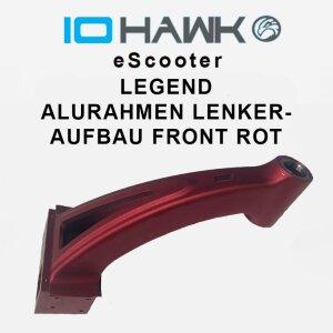 IO HAWK Legend Alurahmen-Lenkeraufbau Front rot