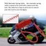 Kopie von IO HAWK eScooter Schloss red