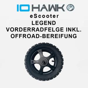 IO HAWK Legend Vorderradfelge mit Offroad-Bereifung
