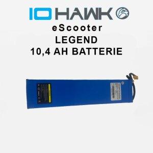 IO HAWK Legend 10.4 Ah Batterie