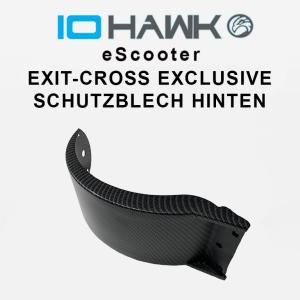 Schutzblech hinten Exit Cross / Carbon Optik B-Ware