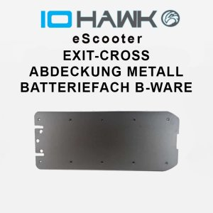 Abdeckung Metall Batteriefach Exit Cross B-Ware